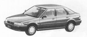 Honda Concerto 5DOOR JX-i 1991 г.