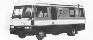 Toyota Coaster CAMPING SALOON  LONG BODY 1991 г.