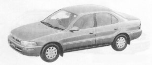 Toyota Sprinter SEDAN 1500XE 1991 г.