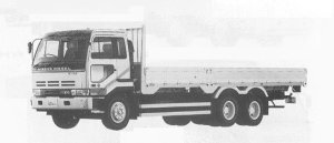Nissan Big Thumb CW 2 REAR WHELL (6*4) 1991 г.