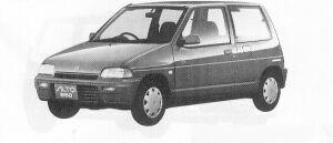 Suzuki Alto 3DOOR P2 1991 г.