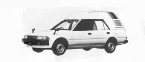 Toyota Carina HIGH ROOF COOLING VAN 1991 г.