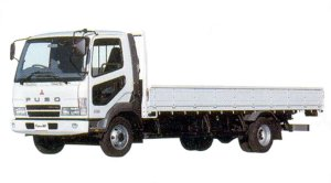 Mitsubishi Fuso  Fighter NX 4-ton, Four-cylinder, Turbo Truck 2005 г.