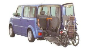 Nissan Cube Chair Cab Slope type (2wd) 2005 г.