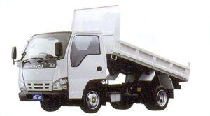 Isuzu Elf Smoother-E, Standard Dump Truck, Flat Low, Standard Body 2005 г.