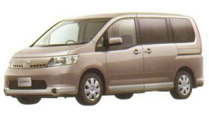 Nissan Serena 20RS (2WD) 2005 г.