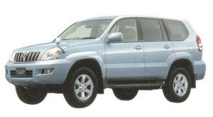 "Toyota Land Cruiser Prado TZ ""G Selection""  V6  4000 Gasoline 2005 г."