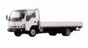 Mazda Titan 2 ton 4.8 liter Ful Wide & Low, Wide Cabin, Super Long Body, Deluxe 2005 г.
