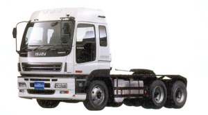 Isuzu Gigamax (6X4) Smoother-G Semi-tractor, 382kW (520PS), Intercooler Turbo 2005 г.