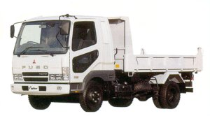 Mitsubishi Fuso Fighter 4-ton Reinforced Dump 2005 г.