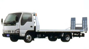 Isuzu Elf Smoother-E, Single Vehcle Loading Car I Loader 2005 г.
