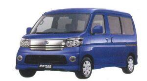 Daihatsu Atrai WAGON CUSTOM TURBO R 2WD 2005 г.