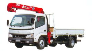 Toyota Dyna Truck with Crane 2005 г.