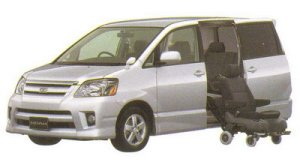 Toyota Noah Welcab, Side Lift-up Seat Car (Detachable type) 2005 г.