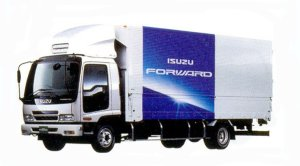 Isuzu Forward Short-Cab Smoother-F 140kW (190PS)  Intercooler Turbo Lightweight Wing Body 2005 г.