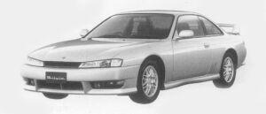Nissan Silvia Q'S AERO 1996 г.