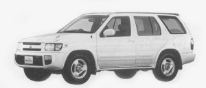 Nissan Terrano Regulus V-6 3300 GASOLINE RS-R LIMITED 1996 г.