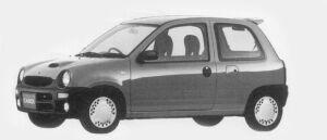 Mazda Carol XR TURBO 1996 г.