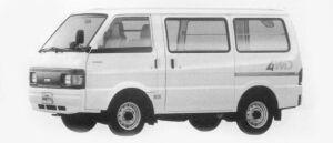Nissan Vanette VAN 4WD STANDARD ROOF 5DOOR DX2200 1996 г.