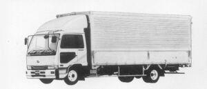 Nissan Diesel Condor WIDE WING VAN 1996 г.