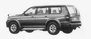 Mitsubishi Challenger X 1996 г.