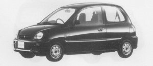 Mitsubishi Minica Cf 1996 г.