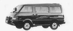Mazda Bongo WAGON 4WD 2000 DIESEL TURBO WAUX 1996 г.
