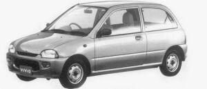 Subaru Vivio 3DOOR el 1996 г.