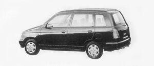 Daihatsu Pyzar CL 2WD 1996 г.