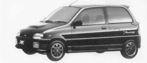 Daihatsu Mira TURBO TR-XX AVANZATO 1996 г.