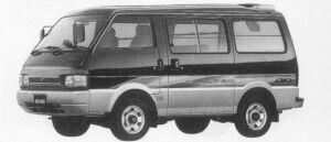 Mazda Bongo VAN 4WD MIDDLE ROOF 2200 DIESEL GL SUPER 1996 г.
