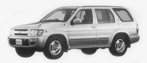 Nissan Terrano Regulus 3200 INTERCOOLER TURBO DIESEL RS-R 1996 г.