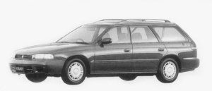 Subaru Legacy TOURING WAGON LX 1996 г.