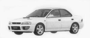 Subaru Impreza HARD TOP SEDAN WRX-RA 1996 г.