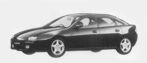 Mazda Lantis COUPE TYPE R 2000 1996 г.