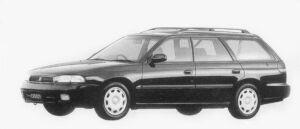 Subaru Legacy TOURING WAGON TX TYPE S 1996 г.