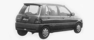 Daihatsu Mira MODERNO CL LIMITED 4WD 1996 г.