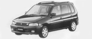 Mazda Demio GL-X 1996 г.