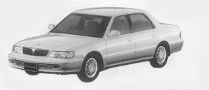 Mitsubishi Debonair EXCEED CONTEGA 3.0 1996 г.