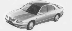 Mazda Eunos 800 MILLENIA 1996 г.