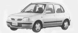 Nissan March 5DOOR 1300D# 1996 г.