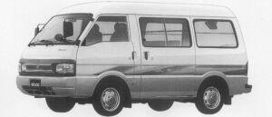 Mazda Bongo VAN 2WD HIGH ROOF 2200 DIESEL 4DOOR GL 1996 г.
