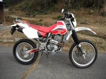 мотоцикл HONDA XR400R