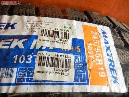 Зимние шины Maxtrek M7 245/55 19 дюймов б/у во Владивостоке