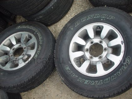 Летниe шины Dunlop grandtrek at3 215/80 15 дюймов б/у в Уссурийске
