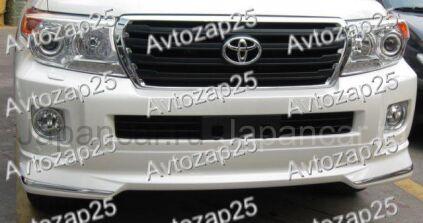 Губа на Toyota Land Cruiser 200 во Владивостоке