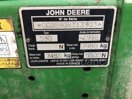 Пресс-подборщик John Deere 590 во Владивостоке