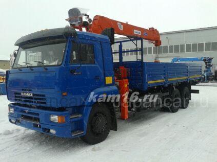 Грузовик с манипулятором КАМАЗ 65117 с КМУ Kanglim 1256 2020 года в Набережных Челнах