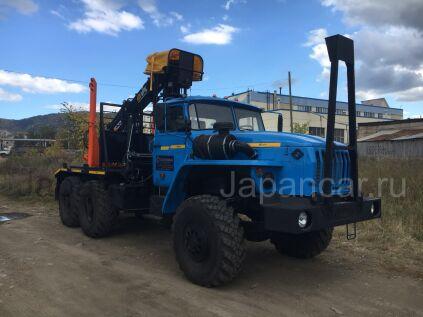 Лесовоз УРАЛ 55571-1151-60Е5 2018 года в Иркутске