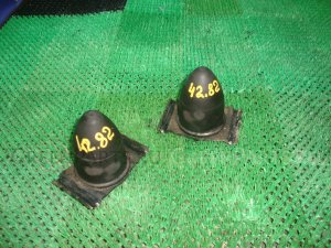 Отбойник рессоры на Mitsubishi L200 KB4T 4D56, 4D56U, 4M41, 6B31 00000014516